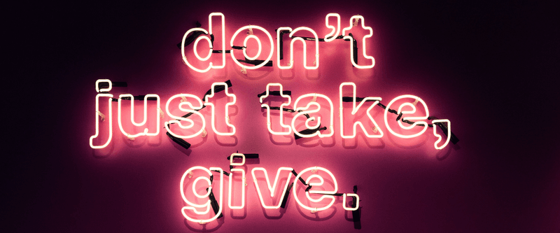 A Give and Take Business